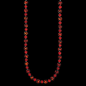 KAGI RED VELVET 49CM NECKLACE