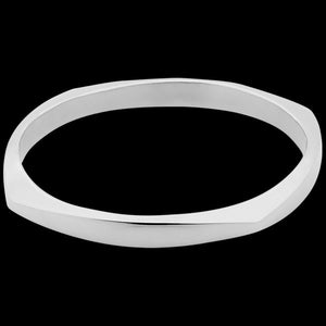 ELLANI STAINLESS STEEL CUSHION BRACELET
