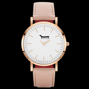 DOXIE PENELOPE ROSE GOLD PEACH 40MM WATCH