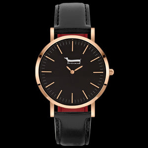 DOXIE SOPHIE ROSE GOLD BLACK 40MM WATCH