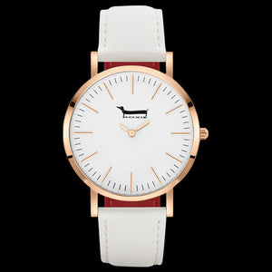 DOXIE GEMIMAH ROSE GOLD WHITE 40MM WATCH