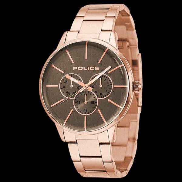 POLICE MEN'S SWIFT ROSE GOLD WATCH