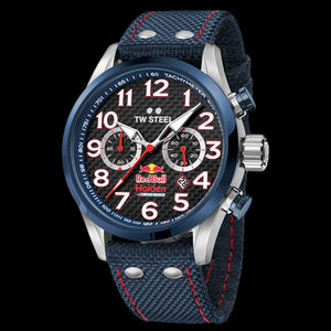 TW STEEL TW967 RED BULL HOLDEN RACING TEAM 48MM CHRONO SPECIAL EDITION WATCH