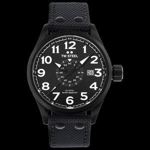 TW STEEL VS41 VOLANTE 45MM 3-HANDS ALL BLACK WATCH