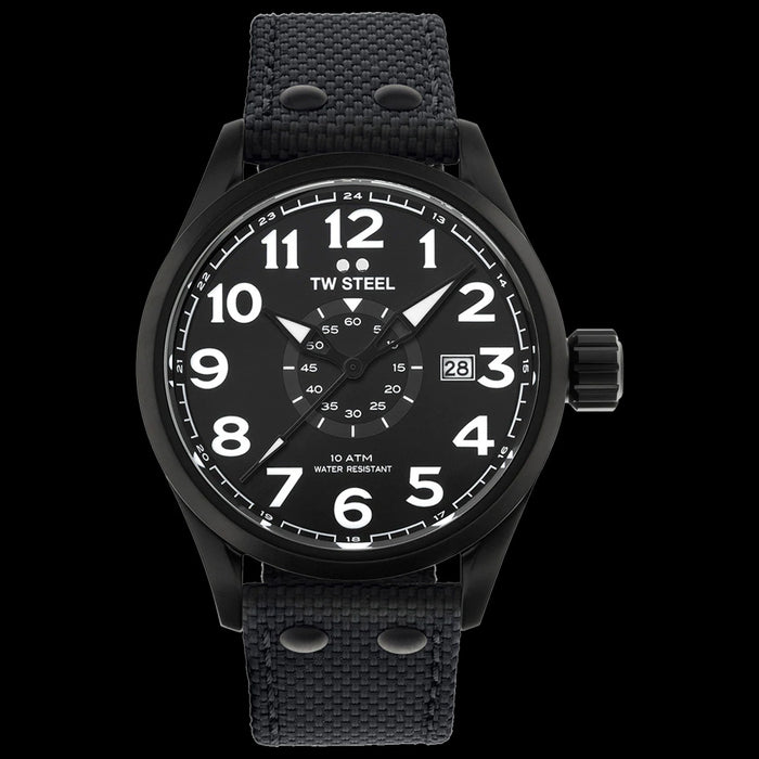 TW STEEL VOLANTE 45MM 3-HANDS ALL BLACK WATCH VS41