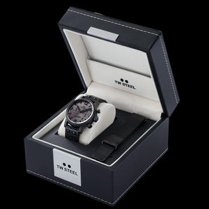 TW STEEL SON OF TIME AEON 48MM CHRONO SPECIAL EDITION WATCH - TWO STRAPS