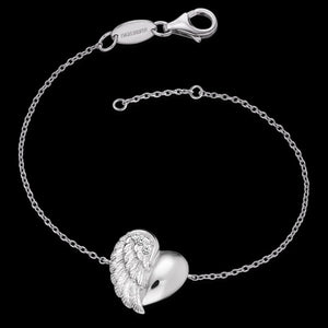 ENGELSRUFER SILVER HEARTWING CZ BRACELET