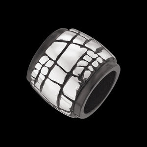 SAVE BRAVE MEN'S BRACELET STEEL BEAD 028
