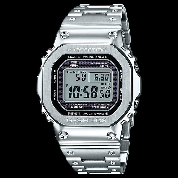 CASIO G-SHOCK 35TH ANNIVERSARY FULL METAL SILVER LIMITED EDITION WATCH GMWB5000D-1D