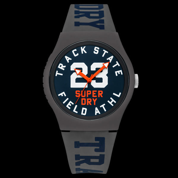SUPERDRY URBAN GREY TRACK & FIELD WATCH