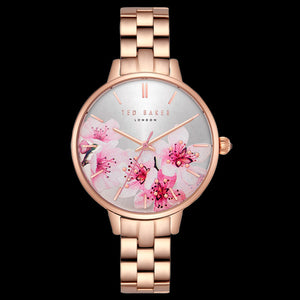TED BAKER KATE ROSE GOLD ORIENTAL BLOSSOM WATCH