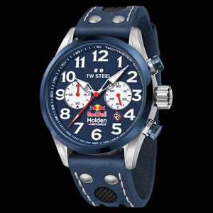 TW STEEL TW980 RED BULL HOLDEN RACING TEAM 48MM CHRONO BLUE DIAL SPECIAL EDITION WATCH