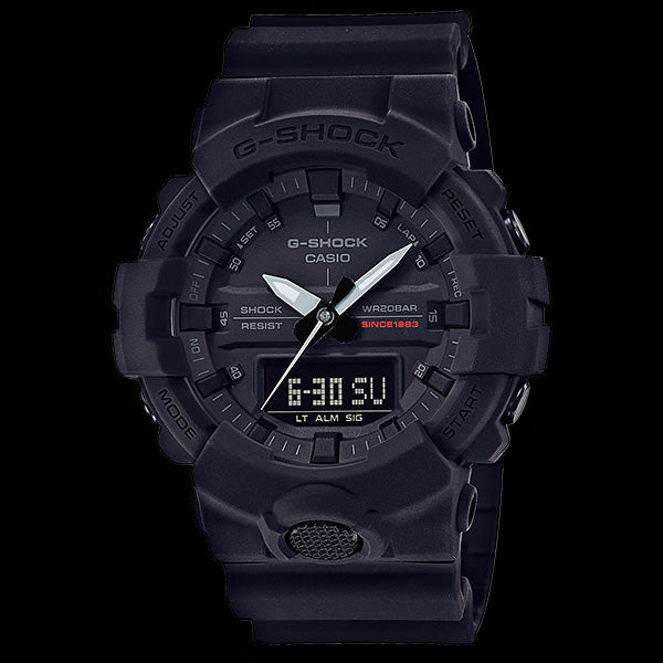 CASIO G-SHOCK BIG BANG BLACK 35TH ANNIVERSARY WATCH GA835A-1A