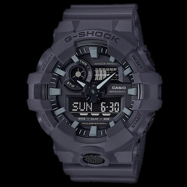 CASIO G-SHOCK UTILITY MILITARY DARK GREY WATCH GA700UC-8A