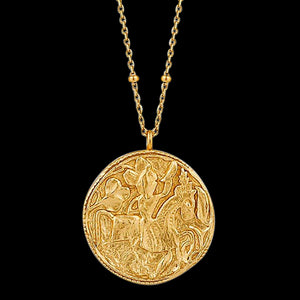 ANIA HAIE COINS GOLD GREEK WARRIOR 80-85CM NECKLACE