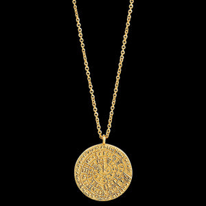ANIA HAIE COINS GOLD ANCIENT MINOAN 40-45CM NECKLACE