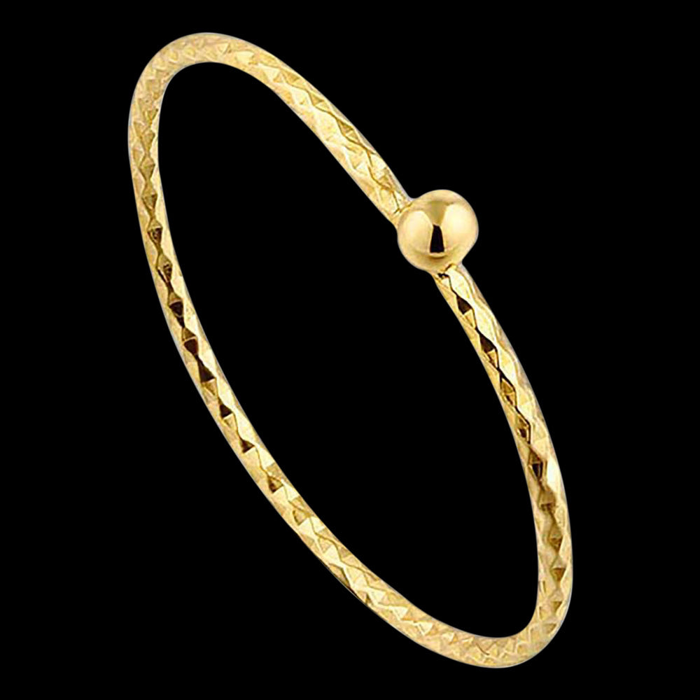 ANIA HAIE TEXTURE MIX GOLD SMALL BALL RING