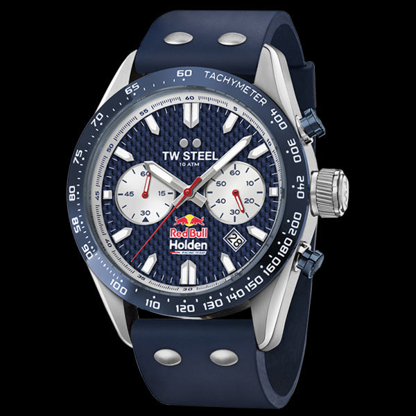 TW STEEL RED BULL HOLDEN RACING 46MM TEAM CHAMPIONS LIMITED EDITION WATCH