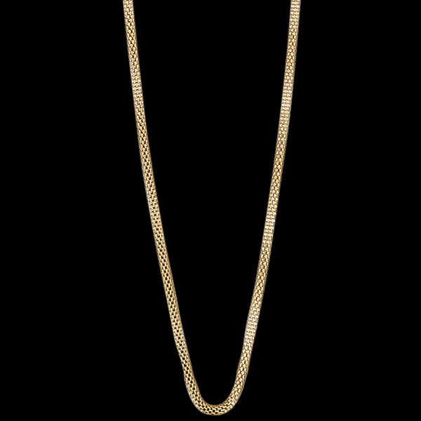 BERING ARCTIC SYMPHONY GOLD STAINLESS STEEL 45CM BEAD STARTER NECKLACE