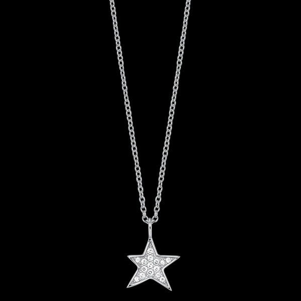 ENGELSRUFER SILVER STAR CZ NECKLACE