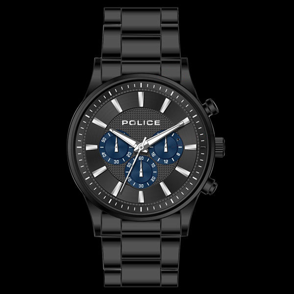 POLICE MEN'S KASTRUP ALL BLACK WATCH