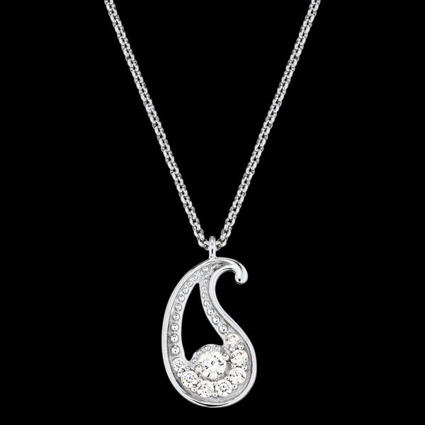 ENGELSRUFER SILVER CZ LITTLE BALANCE NECKLACE