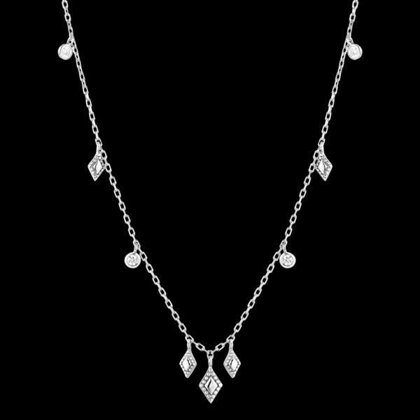 ANIA HAIE BOHEMIAN DREAM SILVER BOHEMIA 35-40CM NECKLACE
