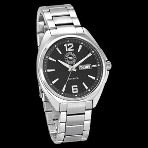 RINGERS WESTERN OUTBACK BLACK DIAL STEEL WATCH