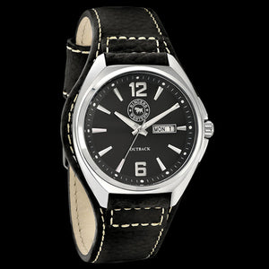 RINGERS WESTERN OUTBACK BLACK LEATHER WATCH
