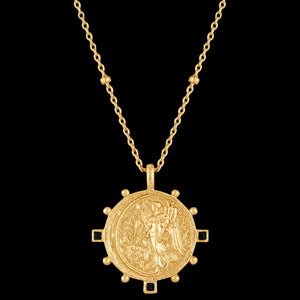 ANIA HAIE GOLD DIGGER VICTORY GODDESS 48-53CM NECKLACE