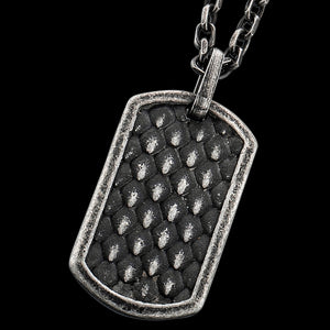 SAVE BRAVE MEN'S LUKE DOGTAG NECKLACE
