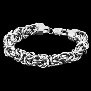 SAVE BRAVE MEN'S CONNOR STAINLESS STEEL BRACELET