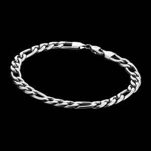 SAVE BRAVE MEN'S JASON FIGARO STAINLESS STEEL BRACELET