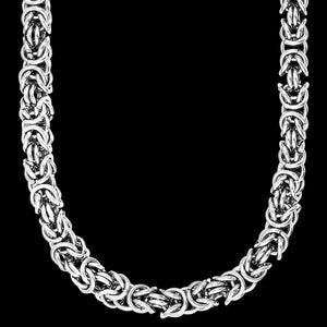 SAVE BRAVE MEN'S LARRY STAINLESS STEEL CHAIN NECKLACE