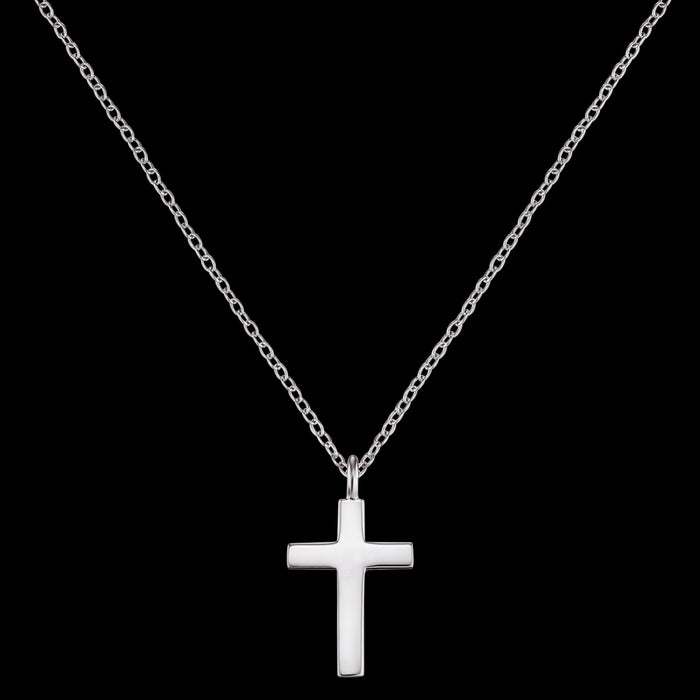 ENGELSRUFER SILVER LITTLE CROSS NECKLACE