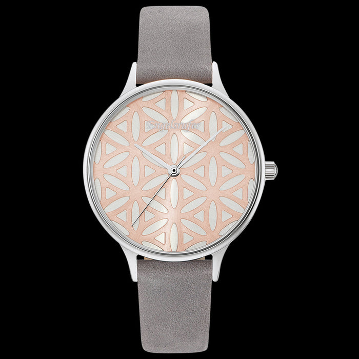 ENGELSRUFER FLOWER OF LIFE SILVER ROSE GOLD WATCH