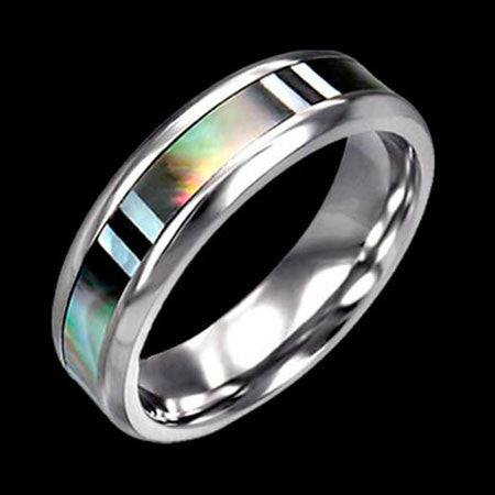 STAINLESS STEEL RING 1869