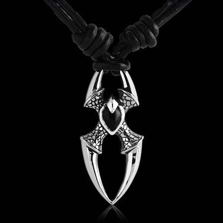KOOLKATANA STAINLESS STEEL SPIDER'S REALM NECKLACE - 1