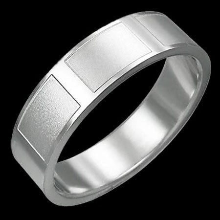 STAINLESS STEEL SATIN FINISH PATH RING