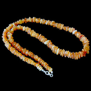 RAW HEALING amber NECKLACE