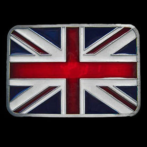 UNION JACK FLAG BELT BUCKLE - 1