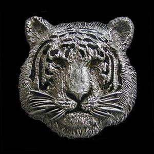 TIGER HEAD BELT BUCKLE