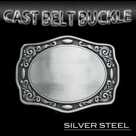 PLAIN SHIELD BUCKLE