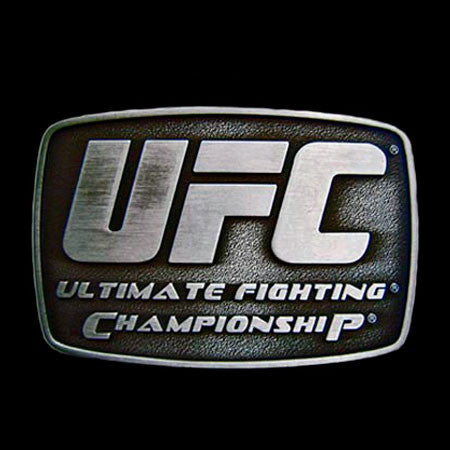 UFC ULTIMATE FIGHTING CHAMPIONSHIP BELT BUCKLE