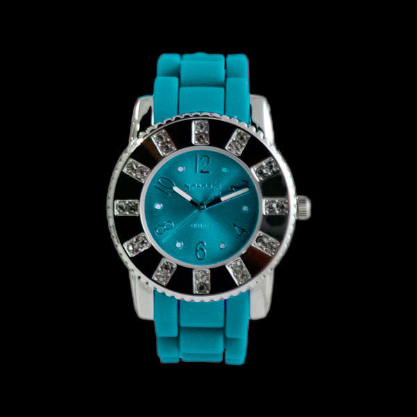 NEMESIS LADIES NIGHTLIFE AQUA DRESS WATCH