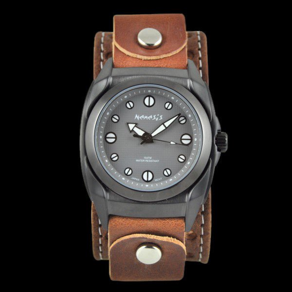 NEMESIS GUN METAL ETERNITY WATCH