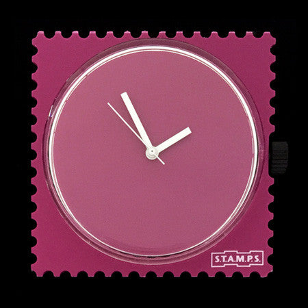 PURE VIOLET STAMPS WATCH