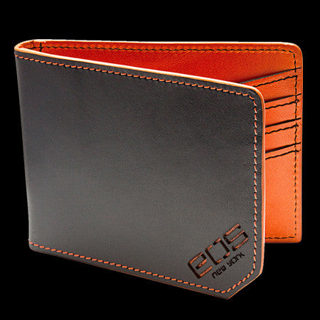 EOS SHELTER WALLET BLACK/ORANGE ,  - EOS NEW YORK, The Cambridge Collection