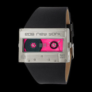 EOS MIXTAPE SILVER/PINK WATCH ,  - EOS NEW YORK, The Cambridge Collection