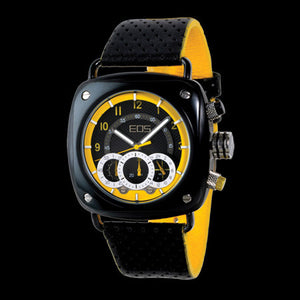 EOS GAUGE YELLOW WATCH ,  - EOS NEW YORK, The Cambridge Collection